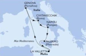 msc grandiosa mediterraneo