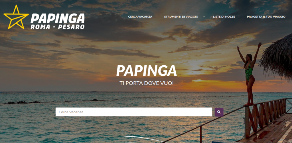 Nuovo sito Papinga